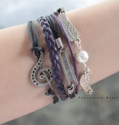 Courage & Clef 2 Bracelet